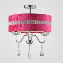 Contemporary Chic Fabric Shade 15.7
