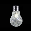 Large Crystal Bulb Sparkling LED Single Light 11.8