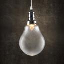 Globe Bulb Style Mini Pendant Light