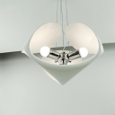 Contemporary Resin Pendant Light For Dinning Room 3-light