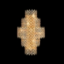 Splendid Wall Sconce With Dainty Appeal with Diamond Crystal Beads