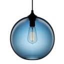 Goldfish Tank Industrial Glass Pendant Light in Different Color