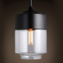 Long Round Mini Industrial LOFT Pendant Light