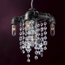 Vintage & Luxury Crystal Mini Pendant Light With 5 Lights