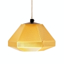 Golden Pendant Light Cell Short