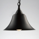 One-Light Pendant Bell Metal Shade