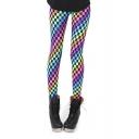 Colorful Plaid Print Spandex Pencil Leggings