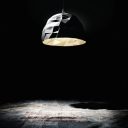 Modern Concise Dome Shaped Pendant by Designer Lighting