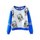 Great Man Print Sweatshirt