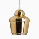 Elegantly Crown Shaped Mini Pendant Light In Designer Style