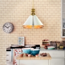 Four Light Charming White Finished Designer Pendant Light for Restaurant