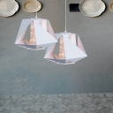 White Lantern Lolita Metal Etch Mini Pendant