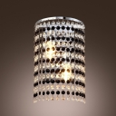 Dripping with Style and Sparkle Wall Sconce is Understated yet Striking