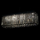 Elegant Pendant Light Graces Dining Rooms and Islands with Glitter of Crystal Lighting