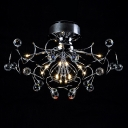 Fabulous Contemporary Flushmount Ceiling Light Offers Excellent Choice for Your Stylish Home