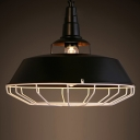 14'' Wide 1 Light Pendant with Cage
