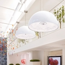 Medium Size Pendant Light Skygarden Etched Pattern