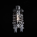 Shining Crystal Mini Pendant Light With One Lights