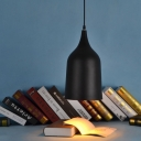 "Black Outside and Golden Inner Side 5.9""Wide Cup Designer Pendant Light"