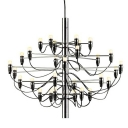Designer Lighting Large Chandelier in Chrome, 30-light