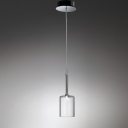 "3.9""Wide Glistening Glass Designer Pendant Light Add Charming to Your House"