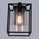 Seedy Glass Edison LED Wall Lamp