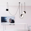 Break Tradition Black/White Hanging Light 3-Light