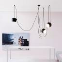 Break Tradition Black/White Hanging Light 3-Light