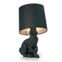 Rabbit Table Lamp by Designer Lighting in Black