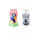 Cartoon&Poster Print Tanks