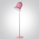 Lovely and Beautiful Pink/Black Finished Hat Shaped Designer Floor Lamp