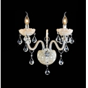 Glamorous Unique Design Add Elegance to16'' High Amazing   Crystal Wall Light
