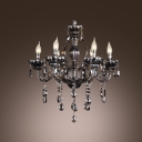"Classic and Sophisticated 23.6""Wide Finely Cut Crystal Pendants Chandelier"