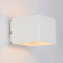 """5.1""""Wide Lovely and Elegant Wrought Iron Designer Cube Wall Light"""