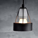 Cage Mini Iron Bulb Style Design Pendant Light