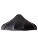 "23.6""Wide Umbrella Elastic Fabric Designer Style Large Pendant Light"