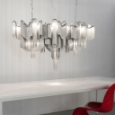 Delicate Chains Large Chandelier by Designer Lighting