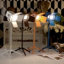 Lovely and Chic Wrought Iron Designer Table Lamps in Brilliant Design