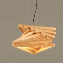 "Bold Design Twisted Designer Large Pendant Light 13.7"" Wide"