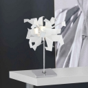 White Crane Novel Table Lamp