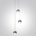 Glass Ball Multi-Light Pendant 3-Light