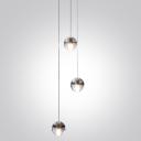 Glass Ball Multi-Light Pendant 3-Light