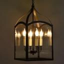 4 Light LED Urn Light in Antique Bronze Finish