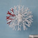 Designer Coral Pendant Light in Burst Shape