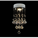 Glittering Crystal Globes Suspended 14.9