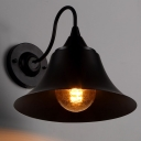 1 Light Wall Lantern Bell shade