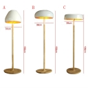 "Novelty Design Mushroom Shaped Designer Floor Lighting 55.1""High"