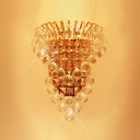 Bring Crystals Balls Chic Lighting to Your Decor with Gorgeous Wall Sconce