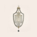 Entertain Under Luxurious Look of  Single Light Large Crystal Chandelier