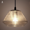 Clear Glass Pendant Light in Tall/Medium/Short Size